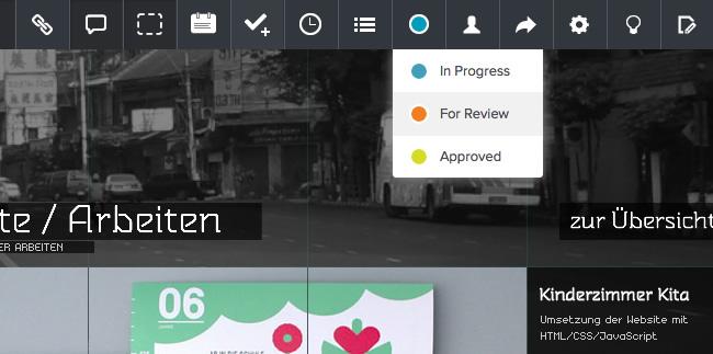Notism Screen Status