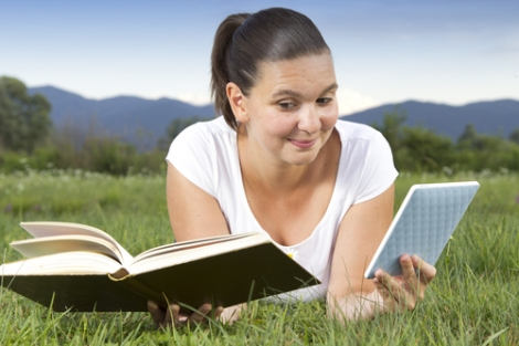 E-book vs tree book